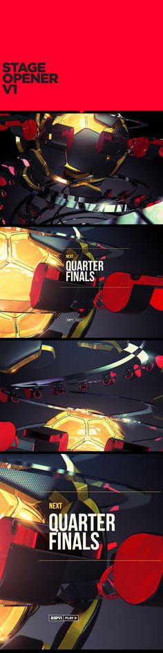 ESPN WORLD CUP SHOWPACK by Charlx Alemañy, via Behance