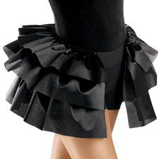 I hate most tap costumes for girls over the age of 6. lol, this I think I could handle though...