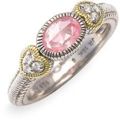 My Judith Ripka Ring! Love it...I never take it off! #gradpresent
