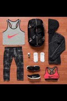 96d1ada8c1 Nike Outfits, Workout Outfits, Workout Clothing, Fitness Clothing, Workout  Attire, Sporty