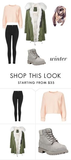 """Bez tytułu #172"" by lollla on Polyvore featuring moda, Topshop, Miss Selfridge, Mr & Mrs Italy, Timberland i Everest"