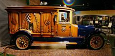 1921 RockFalls hearse, manufactured in Sterling, Illinois. The vehicle measures eight feet in height and more than 19 feet in length. Powere...