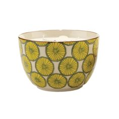 Perfect Pattern Candle Bowl - Black Coconut & Amber | dotandbo.com