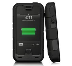 Mophie gets tough with Juice Pack Pro iPhone 4/4S case - It's got a 2,500 mAh battery that more than doubles the life of the iPhone 4S.