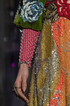 Gucci at Milan Fashion Week Fall 2017 - Details Runway Photos