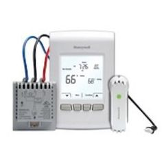Honeywell Wireless Thermostat Kit YTL9160AR1000 by Honeywell. $154.00. The Honeywell Wireless Thermostat Kit YTL9160AR1000 includes a new wireless FocusPRO thermostat, Equipment Interface Module, and Return Air Sensor. This kit includes everything you need to relocate your thermostat or upgrade equipment without running new wires.