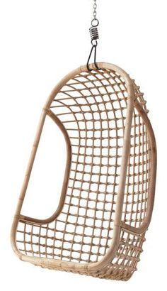 Image result for hk living hangstoel rotan