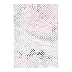 Pink / Grey Marbling Geo A4ish Notebook | Ohh Deer