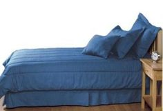 Denim duvet cover and duvet sets in Blue jean fabric $79 indigo too
