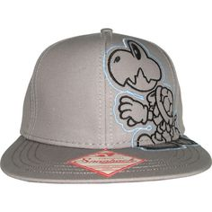 New Nintendo Dry Bones Super Mario Bros Wiiu Era Flatbill Snapback Mens Hat Cool | eBay