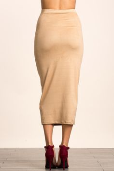 Замшевая юбка Размеры: S, M, L Цвет: бежевый, винный, оливковый Цена: 1489 руб.  #одежда #женщинам #юбки #коопт