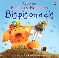 "One of the original books in the Usborne Phonics Readers Series,""Big Pig On A Dig,"" is still available as a separate title as well as included in ""Ted and Friends,"" the combined volume of the first twelve phonics books published and illustrated by Stephen Cartwright."