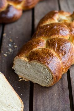 Simple Whole Wheat Challah Bread @Half Baked Harvest