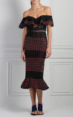 Mediterranean Midi Skirt by Johanna Ortiz   Moda Operandi