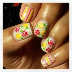 yellow & red floral with dots & stripes Iconosquare – Instagram webviewer