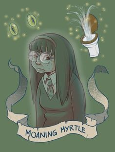 Moaning Myrtle by brenna-ivy