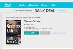 Kobo is now selling Shannon's Law as well...  http://store.kobobooks.com/en-US/ebook/shannon-s-law