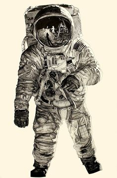 spaceman drawing - Google Search
