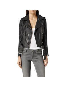 allsaints-leather-balfern-biker-jacket by allsaints. #fashion #newtrend #gorgeous #outfit #stylish #shoptagr