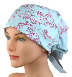 Huge selection of stylish fabric surgical scrub caps and chemo hats for women. Perfect fit, adjustable, Made in the USA. Custom Fitted Hats, Average Size Women, Scrub Hat Patterns, Nurse Hat, Tie Styles, Scrub Caps, Hats For Women, Scrubs, Fashion Vintage