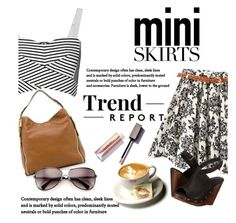 """Mini Skirt Street Style 2"" by clotheshawg ❤ liked on Polyvore featuring Rebecca Minkoff, Cordani, Michael Kors and Wildfox"
