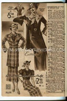 1935 Fashions moda para el verano