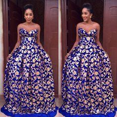 Damask ~African fashion, Ankara, kitenge, African women dresses, African prints…