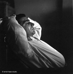 ERNST HAAS - Robert Capa, Magnum Offices, Paris, 1949