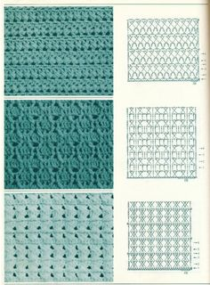 Crochet stitches 409686897350720453 - ISSUU – Handknit Pattern Collection by alice bernardo Source by jennydesienne Crochet Stitches Chart, Crochet Motifs, Crochet Diagram, Crochet Basics, Crochet Lace, Knitting Patterns, Crochet Patterns, Gilet Crochet, Diy Crafts Crochet