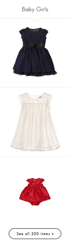 """""""Baby Girls"""" by beautifuldistroyer on Polyvore featuring babies, baby, kids, dresses, baby girl clothes, girls, baby girl, baby clothes, baby stuff and babies."""