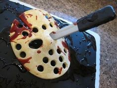 Friday the 13th horror cake