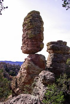 Pinnacle Rock on the Heart of Rocks Trail, Chiricahua National Monument, Arizona;  by Al_HikesAZ, via Flickr