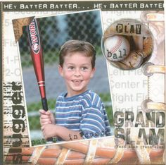 Image detail for -Baseball Scrapbook Paper - smart reviews on cool stuff.