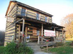 The Gift Shop at #HistoricHannasTown #Greensburg #PA
