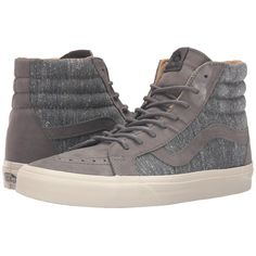 a8a3e50d6c9476 Vans Sk8-Hi Reissue DX ((Tweed) Gray) Men s Skate Shoes (