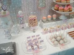 Winter Pink and Silver Baby Shower