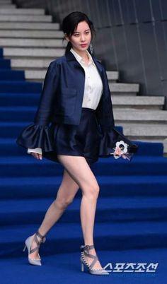 280317 Seohyun - Fleamadonna Hera Seoul Fashion Week