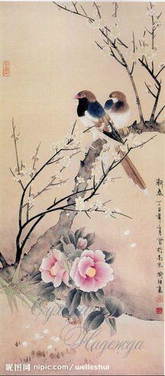 Gallery.ru / Фото #1 - китайская живопись2 - suharevna  J