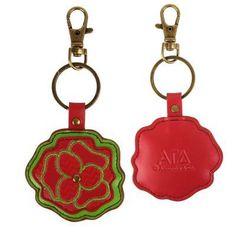 Alpha Gamma Delta Keychain . Mascot