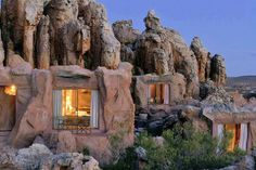 Would you stay here? I'm always looking for off-the-beaten-path places to stay for my clients. If you like unique, you will like this cave hotel in South Africa.