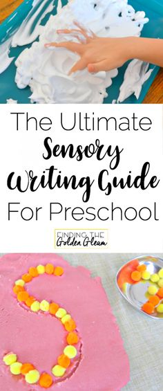 An Amazing Resource of Multi Sensory Writing and Handwriting Ideas to Help a Preschool Child Who Hates Writing