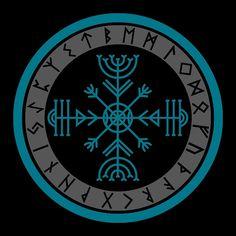 Viking Compass Tattoo, Viking Rune Tattoo, Norse Tattoo, Viking Tattoo Design, Celtic Tattoos, Viking Tattoos, Wiccan Tattoos, Inca Tattoo, Indian Tattoos