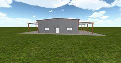 3D #architecture via @themuellerinc http://ift.tt/2d996cy #barn #workshop #greenhouse #garage #DIY
