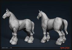 ArtStation - Blunderbuss: Generic Horse, John Gotch