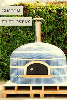 A gallery of incredibly unique tile works on firewood ovens