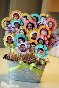 Jordan, who had leukemia, received a similar bouquet from her kindergarten class while recovering.
