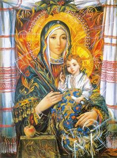 Holy Mary Mother of God Jesus And Mary Pictures, Images Of Mary, Mary And Jesus, Blessed Mother Mary, Blessed Virgin Mary, Catholic Art, Religious Art, Hail Holy Queen, Christian Pictures
