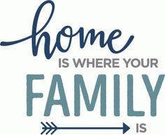 Silhouette Design Store - View Design home is where family is Silhouette Family, Silhouette America, Silhouette Design, Silhouette Cameo, Open Adoption, Best Pet Insurance, Letter Form, Memories Quotes, Quotations