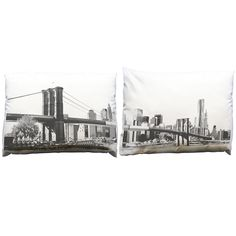 Image of Brooklyn Bridge Pillowcase Set from Build your block....