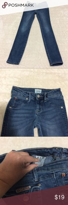 Hudson Premium Denim for Girls Size 10 Hudson Premium Denim Skinny Jeans. These gently used Jeans have a light wash and are in great shape. There is a slight mark that is barely noticeable on the top (shown in pic 8) that would be hidden with a shirt. PRICE reflects this. Hudson Jeans Bottoms Jeans